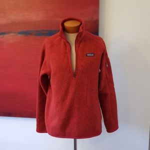Patagonia red fleece